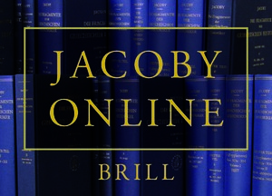 Brill's New Jacoby, Second Edition