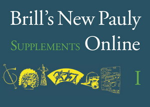 Brill's New Pauly Supplements I - Volume 3 : Historical Atlas of the Ancient World