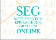 Supplementum Epigraphicum Graecum